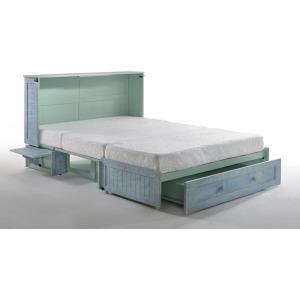 Poppy Murphy Cabinet Bed w/Gel Mattress - Skye