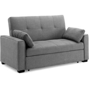 Nantucket Full Sofa Sleeper in Lite Grey