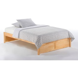 K-Series Queen Basic Bed in Natural