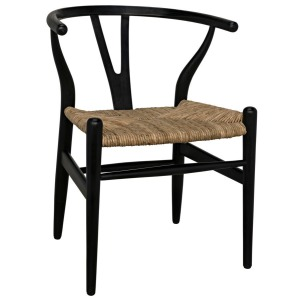 Zola Chair with Rush Seat