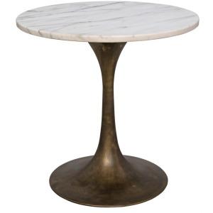 """Laredo 20"""" Table - White Stone Top"""