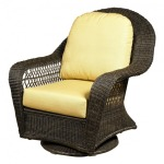 High Back Swivel Glider