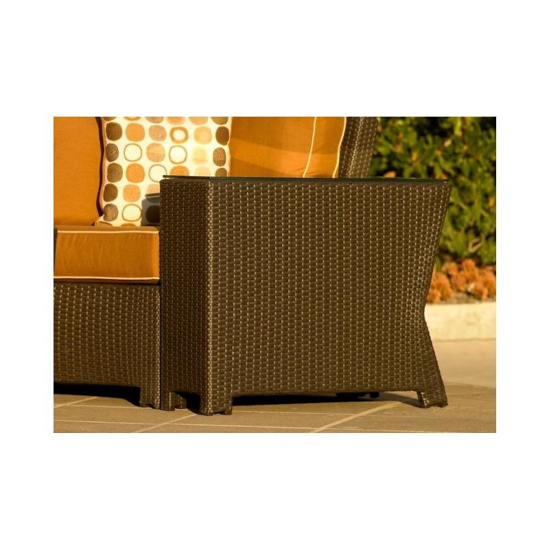 Cabo Wedge End Table