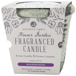 Flower Garden - Snapdragon Candle