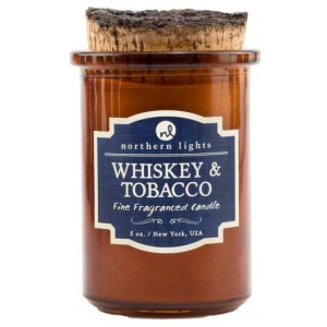 Spirit Jar Candle - Whiskey and Tobacco