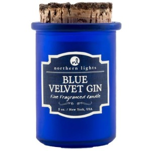 Spirit Jar Candle - Blue Velvet Gin