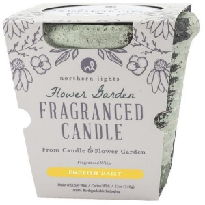Flower Garden - English Daisy Candle