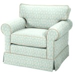 Copley Square Chair/Attached Back
