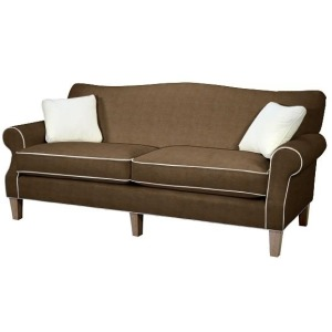 Barton Leather Sofa Condo Size