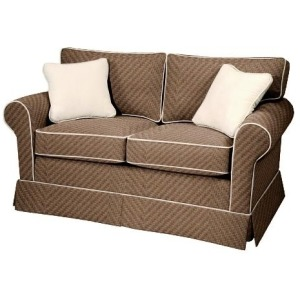 Copley Square Loveseat/Attached Back