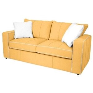 Milford Leather Loveseat