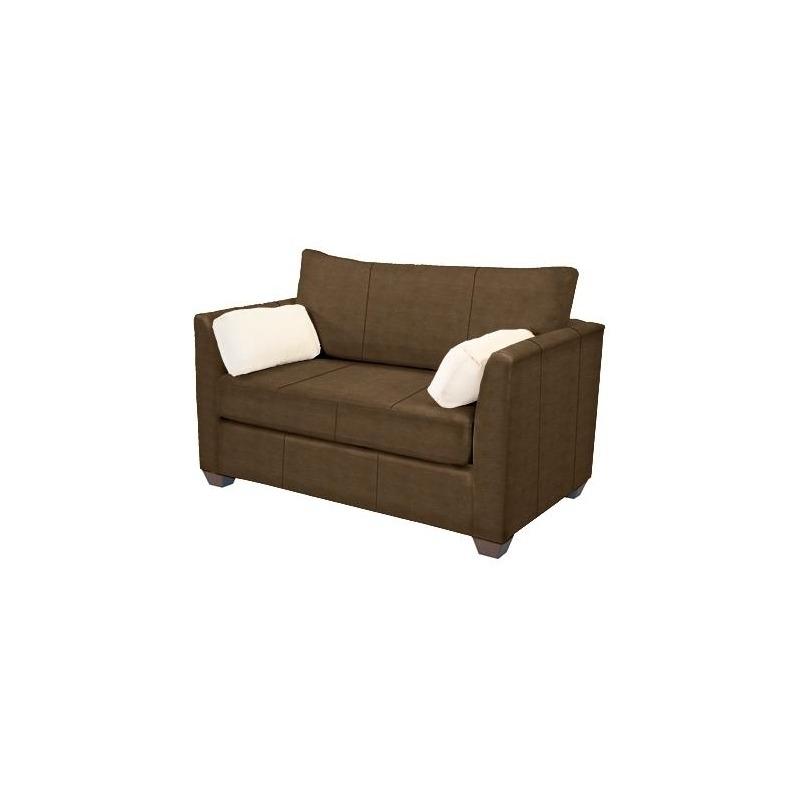 Horizon Leather Twin Sleeper by Norwalk Furniture - 9536-55 ...