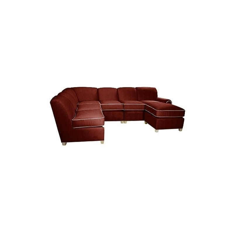 Portland Leather Sectional by Norwalk Furniture - 9389 ...