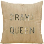 """Drama Queen"" Champaigne Luminescence Pillow"