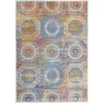 "Ankara Global Multicolor Rug - 5'3"" x 7'6"""