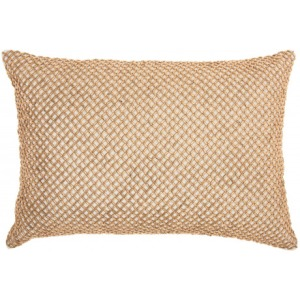 Cream Inspire Home Decor Pillow