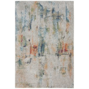 "Ankara Global Ivory Multicolor Rug - 7'10"" x 9'10"""