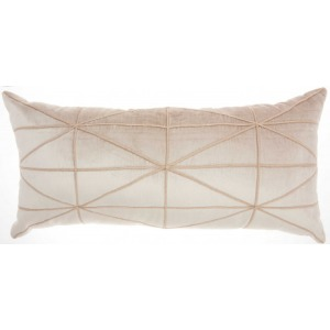 Beige Inspire Me home Decor Pillow