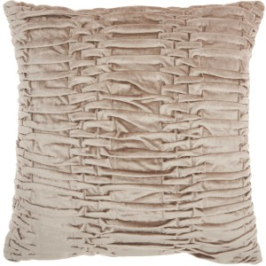 "Beige Lifestyle Pillow 18"" x 18"""