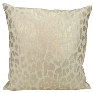 Kathy Ireland Gold Pillow