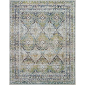 "Ankara Global Blue Green Rug - 8'10"" x 11'10"""