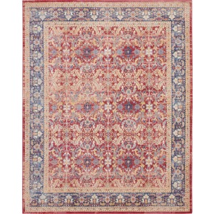 "Ankara Global Red Rug - 7'10"" x 9'10"""