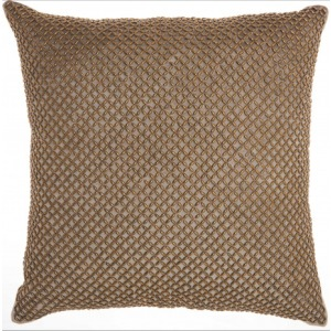 Taupe Inspire Home Decor Pillow
