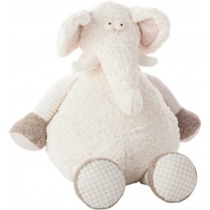 Ivory Elephant Plush