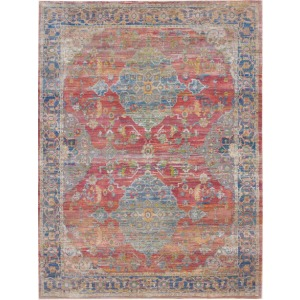 "Ankara Global Multicolor Rug - 7'10"" x 9'10"""