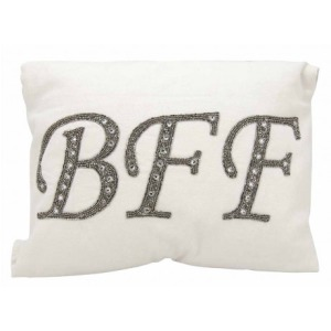 BFF White Luminescence Pillow