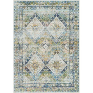 "Ankara Global Blue Green Rug - 5'3"" x 7'6"""