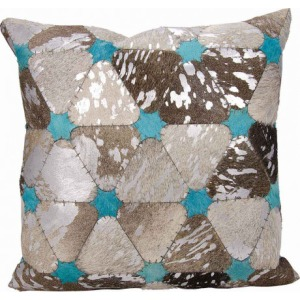 Grey Silver Dallas - Southwestern Pillow