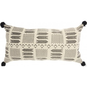 Ivory Black Lifestyle Pillow