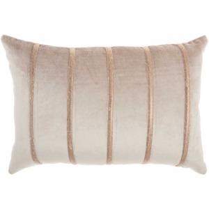 Beige Inspire Me home Decor Pillow