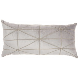 Lite Grey Inspire Me home Decor Pillow