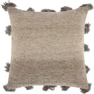 "Dark Grey Life Styles Pillow 18"" x 18"""