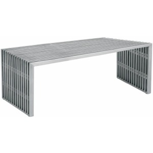 Amici Bench - Stainless Steel