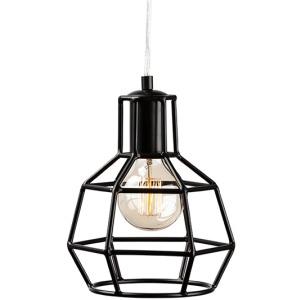 Cage Pendant Lamp - Matte Black
