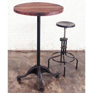 VR41 Bar Table - Reclaimed Hardwood