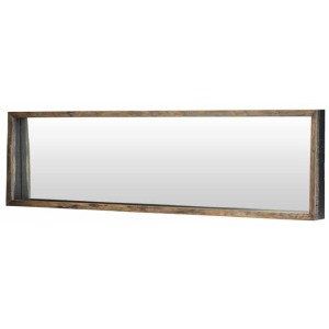 Silas Mirror - 71 X 3 X 19 Seared Oak