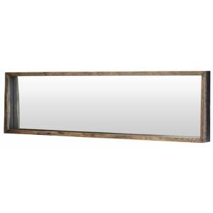 Silas Mirror - 52 X 3 X 19 Seared Oak