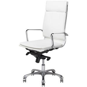 Carlo Office Chair - White Nauga