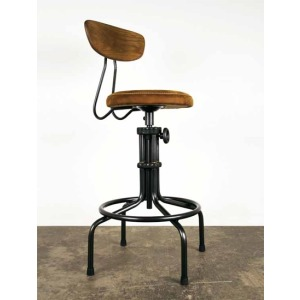 Buck Counter Stool - Umber Leather