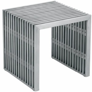Amici Jr. Bench - Stainless Steel