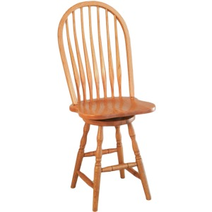 Bent Back Side Barstool