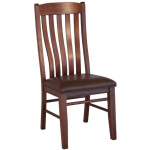 Contour Side Chair w/Wood Seat