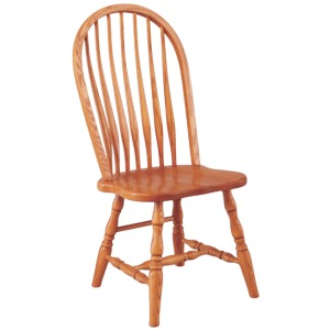 Bent Back Side Chair