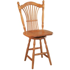 Sheaf Back Side Barstool