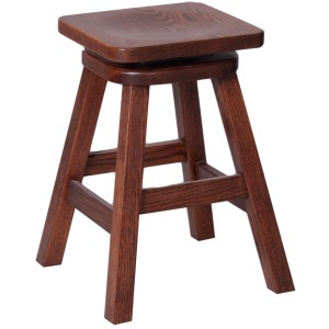 Mission Swivel Seat Stool