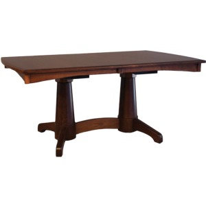 Lighthouse Double Pedestal Table